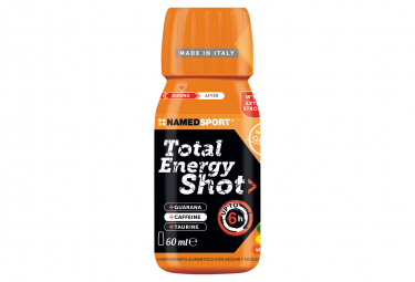 Food supplement NamedSport Total Energy Shot Orange 60ml