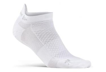 Craft Invisibles Running Socks White (2x2 socks)