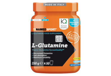 Food Supplement NamedSport L-Glutamine 250G