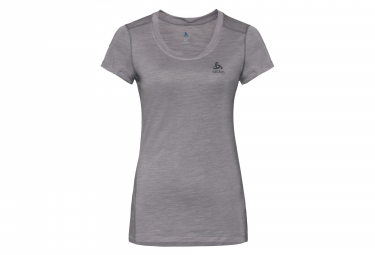 T-shirt Manches Courtes Femme ODLO NATURAL LIGHT Gris