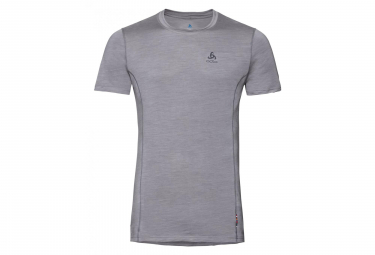 Odlo Natural Light Short Sleeves T Shirt Grey Melange M