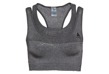 ODLO CERAMICOOL SEAMLESS MEDIUM Bra Grey melange