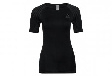 T-Shirt Manches Courtes Femme ODLO PERFORMANCE LIGHT Noir