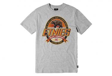 Etnies SS Tee Skate Cal Grey / Heather