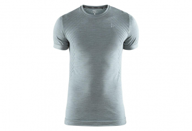 Sous-Maillot Manches Courtes Craft Fuseknit Comfort Col Rond Gris