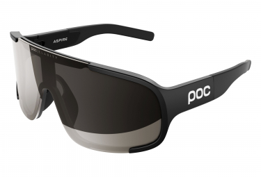 Poc Aspire Clarity Glasses Uranium Black / Cold Brown Silver Mirror