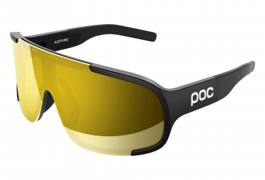 Poc Aspire Clarity Glasses Uranium Black / Violet Gold Mirror