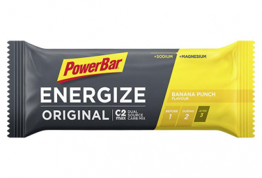 Image of Barre energetique powerbar energize original c2max 55gr banane