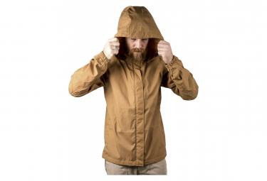 Chrome Jacket Wind Cobra Golden Packable Brown