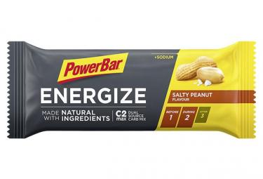 PowerBar Energize Natural Ingredients Energy Bar Salty Peanut 55 g
