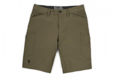 Chrome Short Engineered Cargo Military Olive
