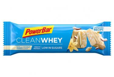 Barre Protéinée PowerBar Clean Whey Vanille Noix de Coco 45 g