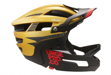 Urge Gringo MTB helmet of the Pampa Gold / Black