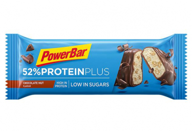Image of Barre proteinee powerbar 52 protein plus chocolat noix 50 g
