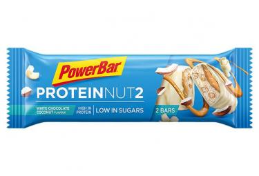 Barre Protéinée PowerBar Protein Nut2 Chocolat Blanc Noix de Coco 45 g