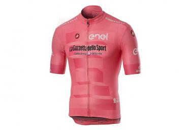 Maillot Manches Courtes Castelli Giro Squadra Rose