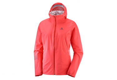 Salomon LIGHTNING Waterproof Women's Jacket Orange