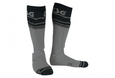 TSG Riot sock Grey stripped