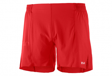 Salomon S/Lab 6'' Shorts Red