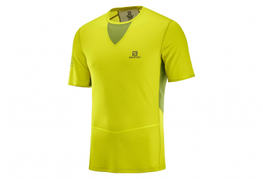 T-Shirt Salomon SENSE ULTRA Jaune
