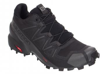 Chaussures de Trail Femme Salomon Speedcross 5 Noir