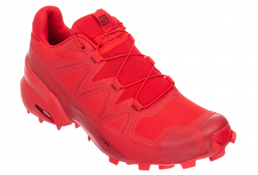 Chaussures de Trail Salomon Speedcross 5 Rouge