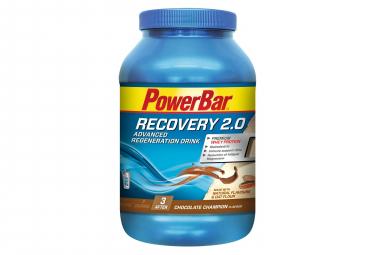 Boisson de Récupération PowerBar Recovery 2.0 Chocolat 1144 g