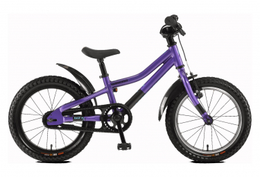 Winora Rage 16'' Kid Bike Single Speed Coaster Brake Purple