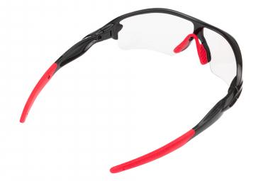 Paire de Lunettes Neatt Noir Rouge - Écran Transparent