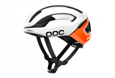 Poc Omne Air Spin Helmet Zink Orange AVIP White