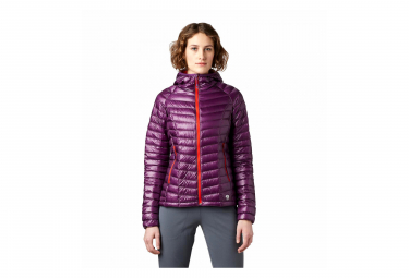 Mountain Hardwear Ghost Whisperer Hooded Down Jacket Cosmos Purple Women