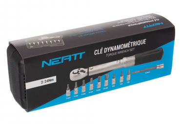 Clé Dynamométrique Neatt Set 2-24Nm 3/4/5/6/8/10mm T20/25/30