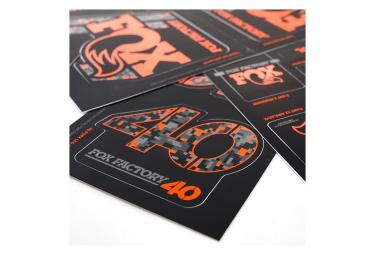 Fox Racing Shox Stickers Heritage 2019 DigiCam