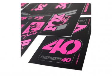 Fox Racing Shox Stickers Heritage 2019 Pink
