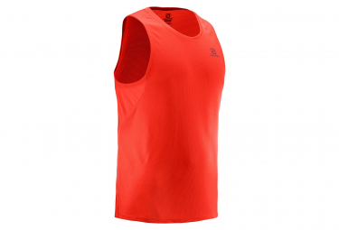 Salomon Agile Tank Red