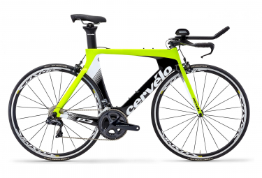 Cérvelo P3 ULTEGRA DI2 R8050 2019 Triathlon Bike Neon Yellow/Black