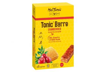 MEL TONIC' HONEY RED FRUITS 5 Energys Bars