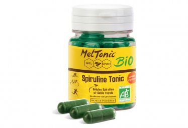 MEL TONIC Food Supplements SPIRULINE TONIC 60 caps