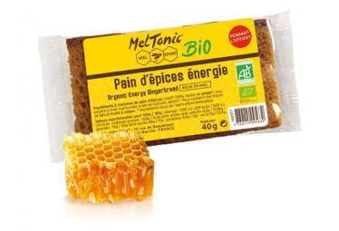 Pain d'épices Meltonic Energie BIO 40g