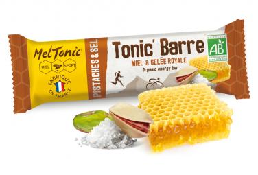 Mel Tonic   39 Honey Pistachio Energy Bar
