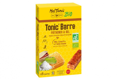 MEL TONIC 'HONEY Pistachio Energy Bar