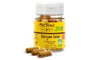 Complément Alimentaire Meltonic Curcuma Tonic BIO 60 gélules