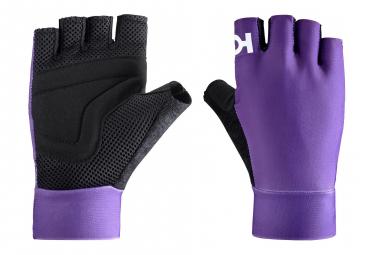 Katusha icon short gloves purple l