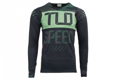 TROY LEE DESIGNS Long Sleeve Jersey Skyline Ls Air Speedshop Camo Black