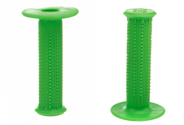 Paire de Grips Oury Pyramid 114 mm Vert