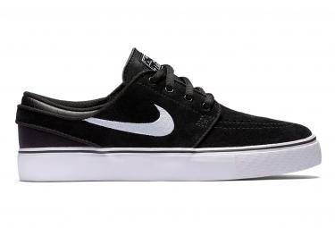 Chaussures Enfant Nike SB Stefan Janoski Noir / Blanc