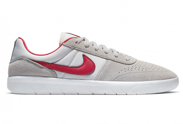 Nike SB Team Classic Shoes Atmosphere Grey / Red