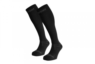 BV SPORT Compression Socks Confort Evo Black