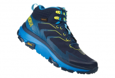 Hoka Outdoor Shoes Sky Toa Blue Yellow Men