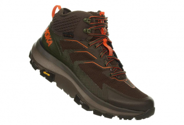 Hoka Outdoor-Schuhe Sky Toa Green Olive Orange Men